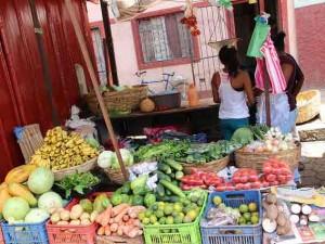 Kleurrijke markt in Nicaragua