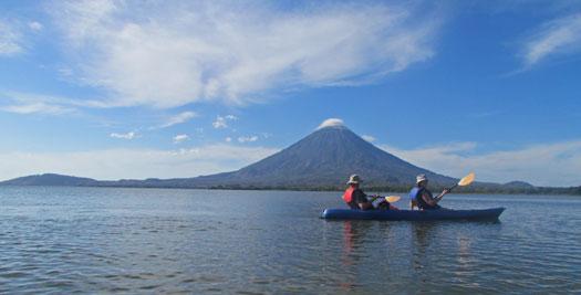 Nicaragua rondreis kayakken