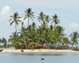 Panama reizen: tropisch eiland