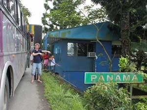 Panama grensovergang