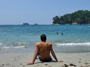 beste reistijd Costa Rica - strand