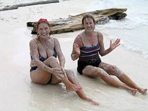 San Blas archipel natural scrub