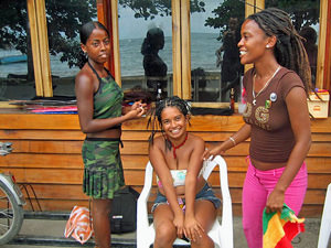 Caribisch relax momentje