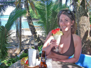 Samara - Cocktail drinken op het Costa Rica strand