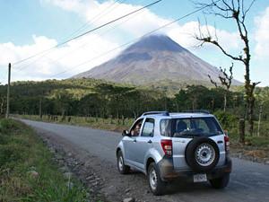Selfdrive vulkaan