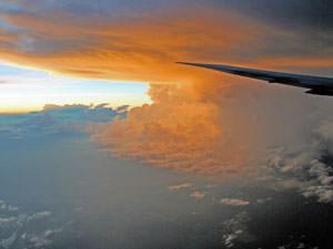 Costa Rica vanuit de lucht