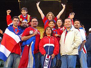 Costa Rica cultuur: voetbalfans