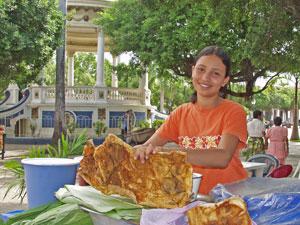 granada markt verkoopster costarica