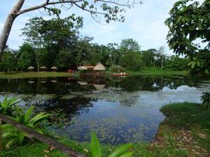Costa Rica rivier Boca Tapada