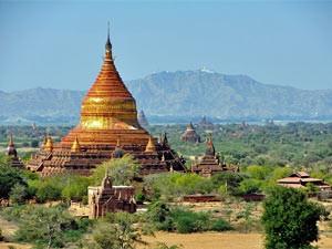 Bagans Tal der Tempel ist weltweit einzigartig