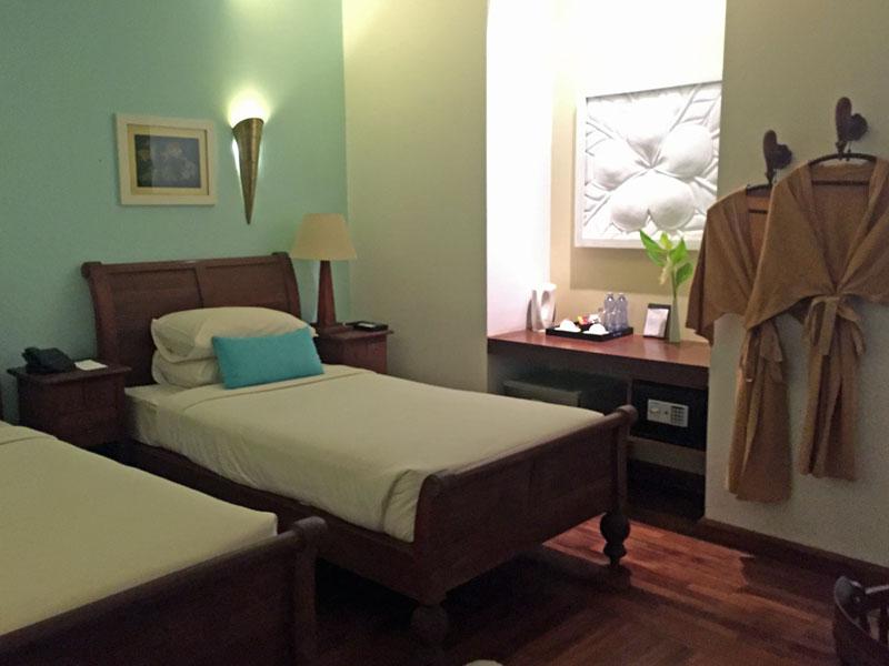 Hotelzimmer in Bagan in Myanmar