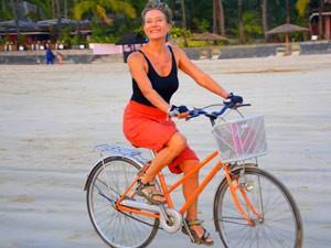 Myanmar Strand Rundreise: Mit Fahrrad am Myanmar Strand