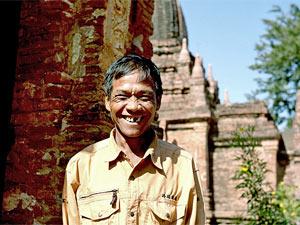 Tempel von Bagan: Freundlicher Guide