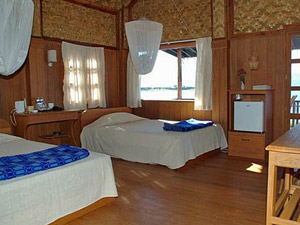 Urige Zimmer auf dem Inle See