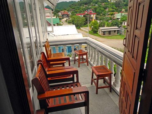 Balkon vom Kalaw Hotel