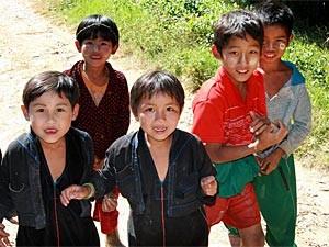 Myanmar mit Kindern erleben