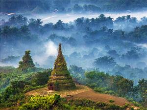 3 Wochen Myanmar - Landschaft Mrauk U