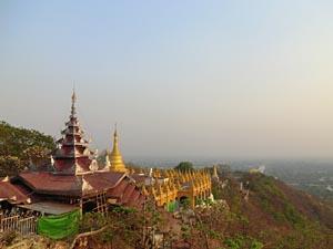 Myanmar Individualreise - Ausblick vom Mandalay Hill