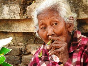 Einheimische Myanmar