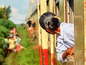 Hsipaw: Zugfahrt nach Pyin Oo Lwin