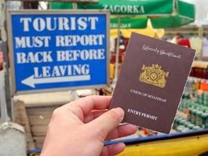 myanmar einreisebestimmungen reisepass