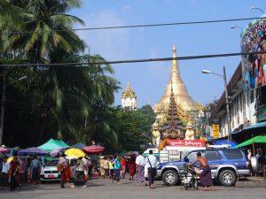 Myanmar Individualreise - Shwedagon Pagode in Yangon
