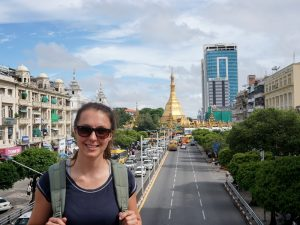 Myanmar Individualreise - Stadtspaziergang in Yangon