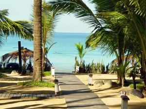 Weg zum Ngapali Beach