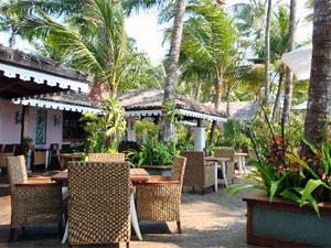 Terrasse am Ngapali Beach
