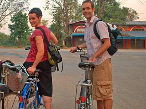 Fahrrad fahren in Pyin Oo Lwin