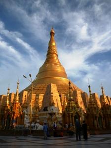 Myanmar Individualreise - Die goldene Shwedagon Paya in Yangon