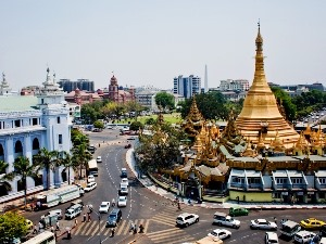 Sule Pagode in Yangon