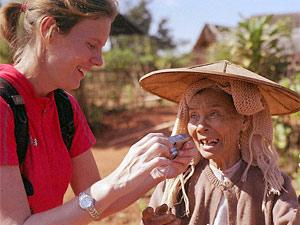 Trekking in Myanmar: Begegnung mit den Einheimischen bei Kalaw