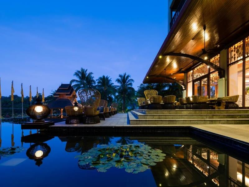 Yangon Komforthotel Außenanblick