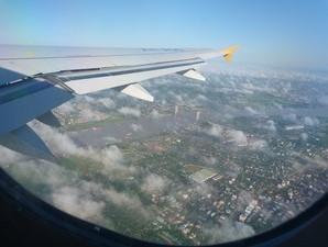 Aussicht aus der Luft