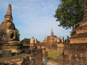 von Thailand nach Myanmar - Der historische Park von Sukhothai