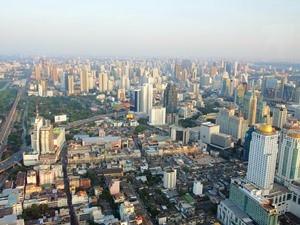 Ein letzter Blick auf Bangkok ...