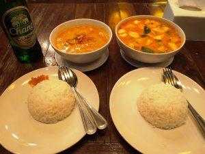 Myanmar und Thailand - Bangkok Restaurant