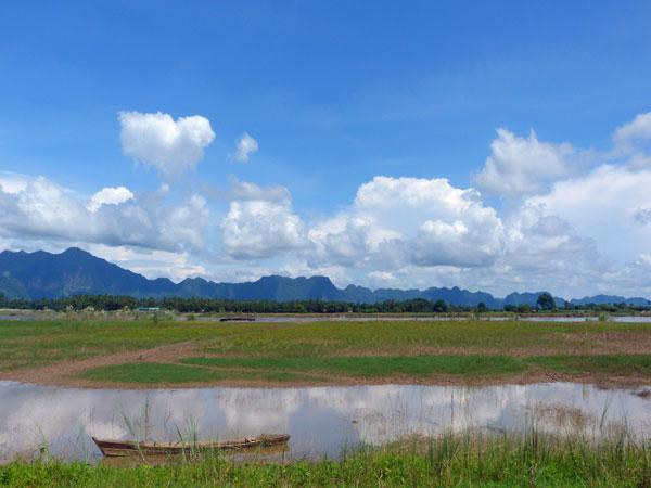 Panoramablick bei Hpa An