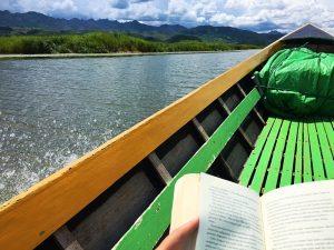 Nach dem Trekking zu den Langhalsfrauen: Entspannen auf dem Samkar See