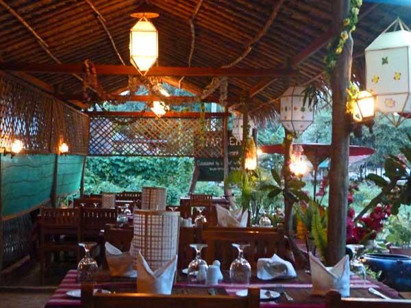 Restaurant in Bagan