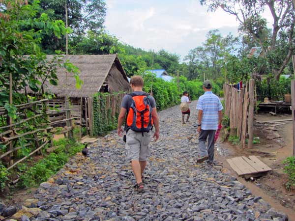 Wanderung im nördlichen Shan Staat