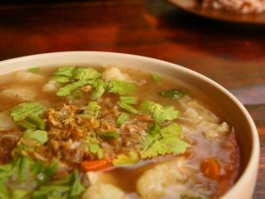 Suppe in Bangkok