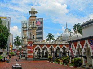 Die Masjid Jamek in Kuala Lumpur