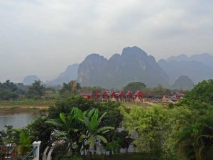 Landschaft in Laos