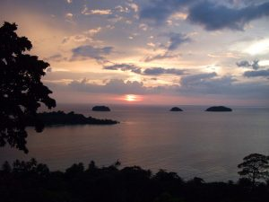 Sonnenuntergang auf Koh Chang