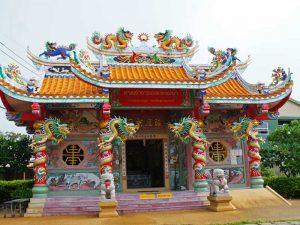 Tempel auf Koh Samui