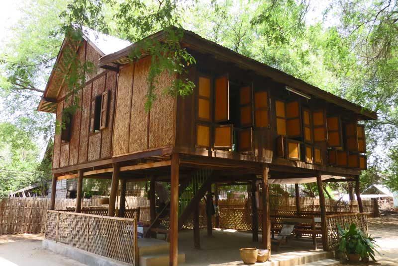 Yangon nach Bagan: Homestay Übernachtung in einem Pfahlhaus