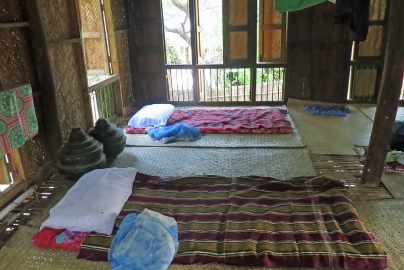 Yangon nach Bagan: Hier können mehrere Personen übernachten