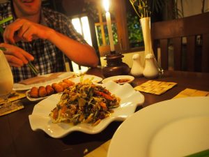Abendessen Nyaung Shwe Restaurant